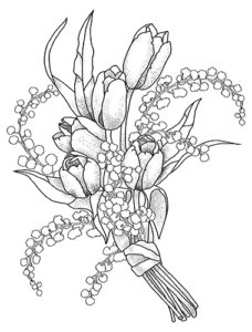 Beautiful flowers coloring book for adults happy coloring books description mightylinksfo